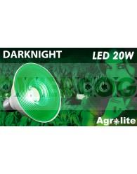 Bombilla Dark Night Led 20w Luz Verde (Agrolite)