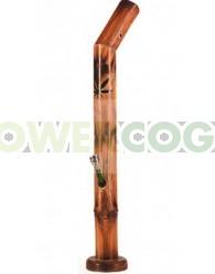 Bong Bambú Hoja de Marihuana 53cm