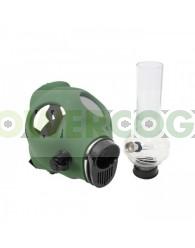 Bong Máscara de Gas Verde