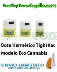 Bote Hermético TightVac Eco Cannabis