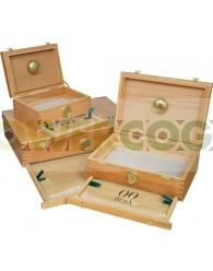 Caja 00 Box Curado (Madera Cedro) Grande