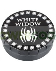 CAJA METAL CLICK CLACK WHITE WIDOW