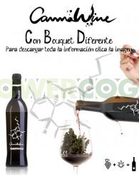 CannaWine Vino con Cannabis 500ml