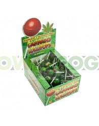 Chupa Chup de Marihuana con chicle StrawBerry
