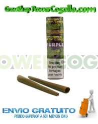 Cones Cyclones Hemp Blunt Purple (2 conos)