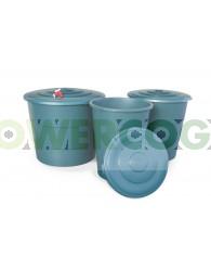 Depósito Agua Redondo Verde