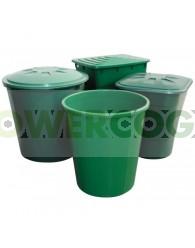 Depósito Cuadrado Verde