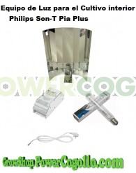 Kit 250w Philips Son-T Pia Plus (Floración)