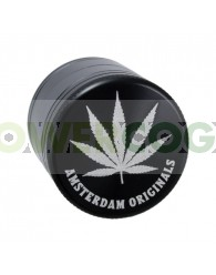 Grinder Aluminio Hoja Cannabis 50mm 4 Partes