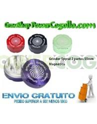 Grinder Spyral 2 partes 55mm
