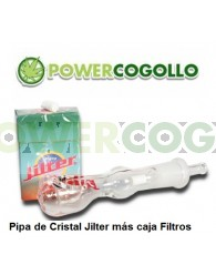 Jilter Filter Pipa de Cristal