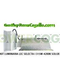 KIT LUMINARIA LEC SELECTA I 315W-4200K SOLUX