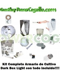 Kit Completo Armario Dark Box Light 120