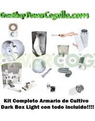Kit Completo Armario Dark Box Light ECO 80