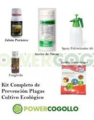 Kit Completo Prevención Plagas Cultivo Ecológico