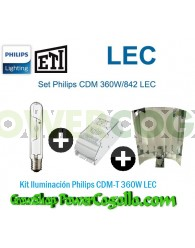Kit Iluminación Philips CDM-T 360W LEC