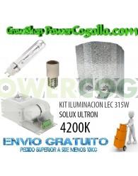 KIT ILUMINACION LEC 315W SOLUX ULTRON 4200K