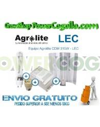 Kit LEC 315W Agrolite Magnético 3000K