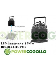 LED Greenbay 150W Regulable (ETI)