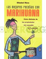 Libro Las Mejores recetas con MARIHUANA. Elisabet Riera