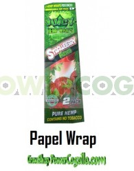 PAPEL DE CAÑAMO HEMP WRAPS JUICY BLUNT FRESA