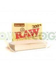 Papel Raw 1 1/4 300's Orgánico