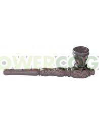Pipa de Madera de palo de rosa de Grabada 12,7 cm con Tiro