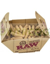 Boquillas de Cartón Cónicas Pre-liadas RAW (100unid)