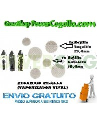 RECAMBIO REJILLA BOQUILLA 13,4 MM (VAPORIZADOR VITAL)
