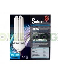 Bombilla CFL Solux Crecimiento Bajo Consumo