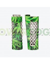 Spark & ​​Grind Clipper 420 Green Funda