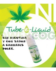 Esencia Tube-e Liquid 10 ml sabor Marihuana