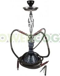 ARGUILA SHABI SHISHA 64 cm NEGRA 3 SALIDAS