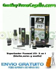 Vaporizador Tsunami F3- 3 en 1