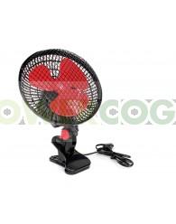 Ventilador con Pinza Oscilante Cyclone