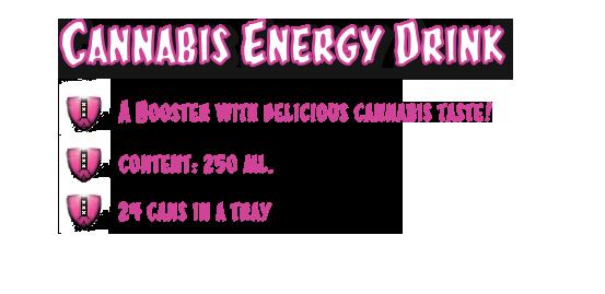Cannashot Energy Drink Marihuana (CannaShok)