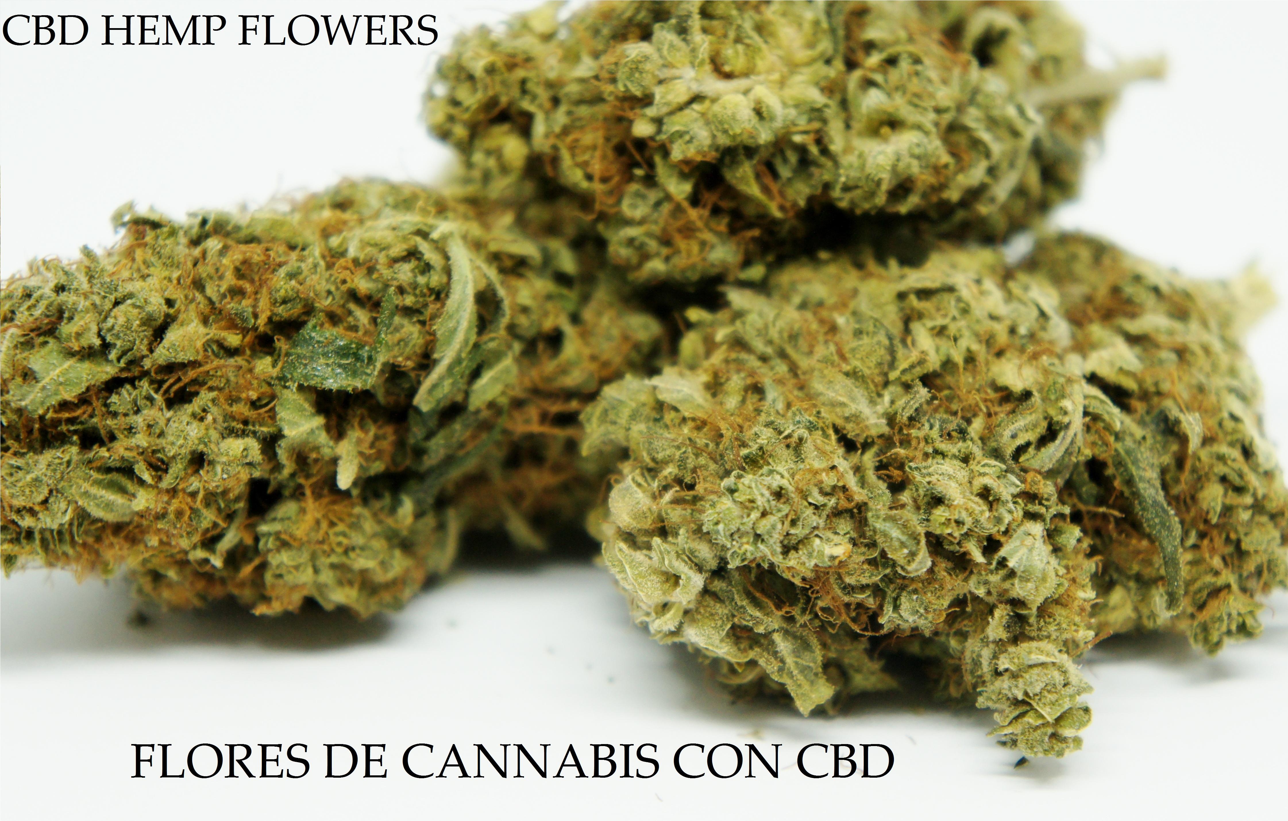Flores De Cannabis Con CBD