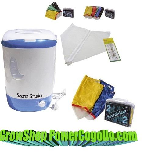 kit lavadora secret smoke secret-icer