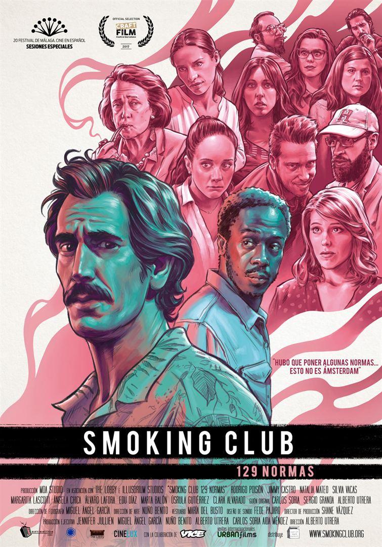 """NUEVA PELÍCULA CANNABICA """"SMOKING CLUB (129 NORMAS)"""""""