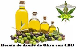 Aceite de oliva con CBD