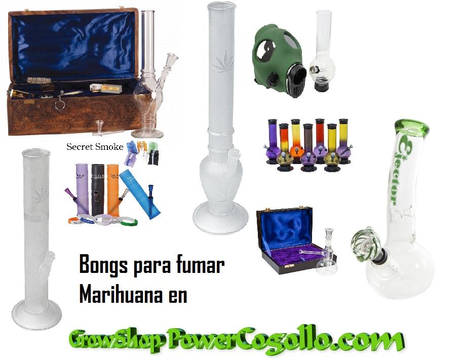Bongs para fumar marihuana