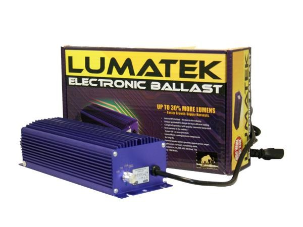 balasto digital lumatek regulable