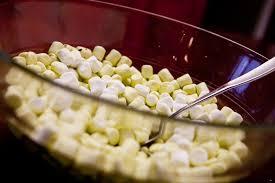 Marshmallow arroz inflado marihuana
