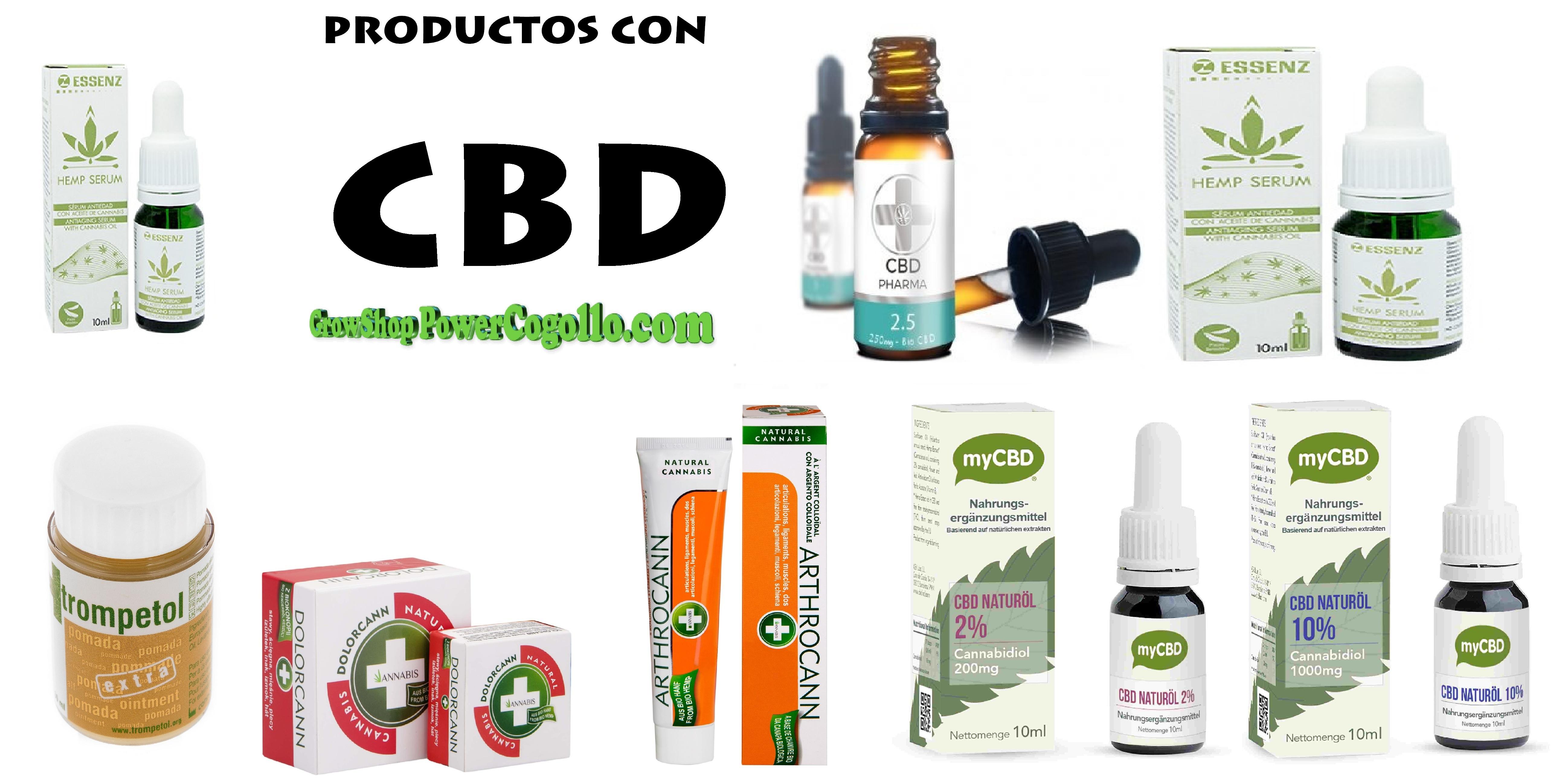 Productos de Cannabis con CBD
