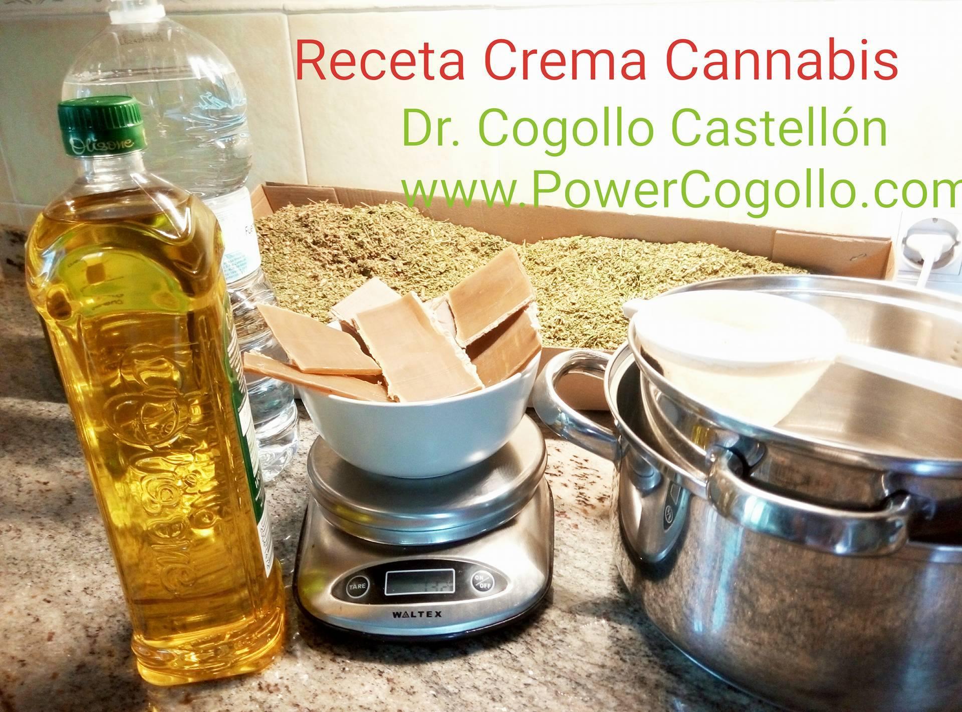 Crema Cannabis-Marihuana Casera