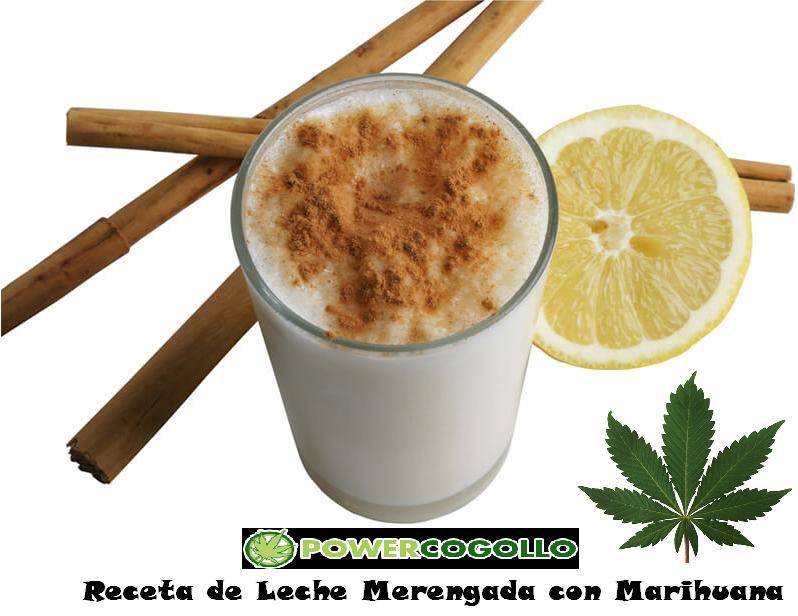 receta de leche merengada con marihuana